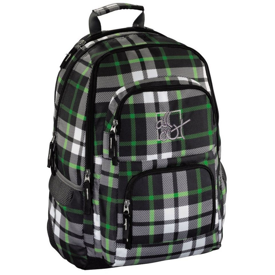 All Out Rucksack Louth, Forest Check
