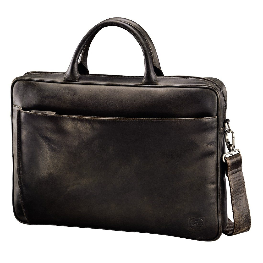 Hama est. 1923 Ledertasche Mathis Paris, Dark Brown