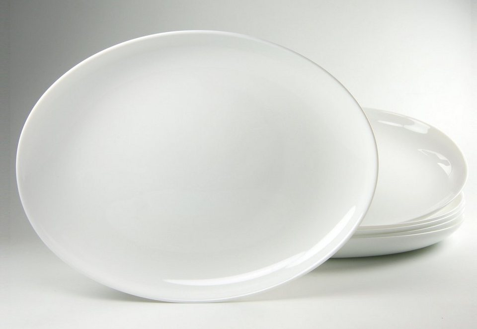 Luminarc Barbecue-Teller (6 Stck.) in weiß