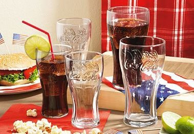 Luminarc CocaCola Gläser-Set (6 Stck.) in transparent
