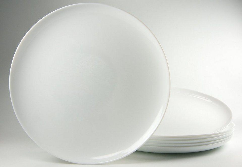 Luminarc Pizzateller (6 Stck.) in weiß