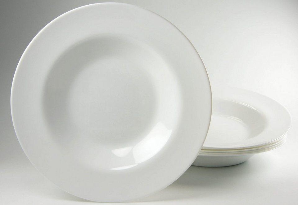 Luminarc Pastateller (6 Stck.) in weiß