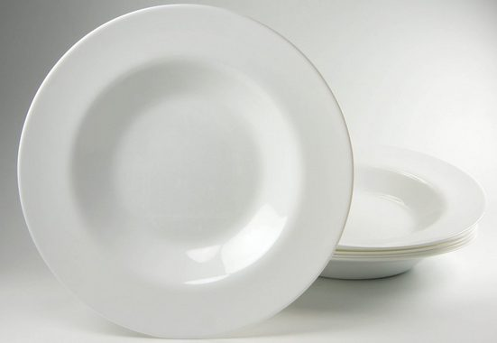 Luminarc Pastateller, (6 Stück), Glas