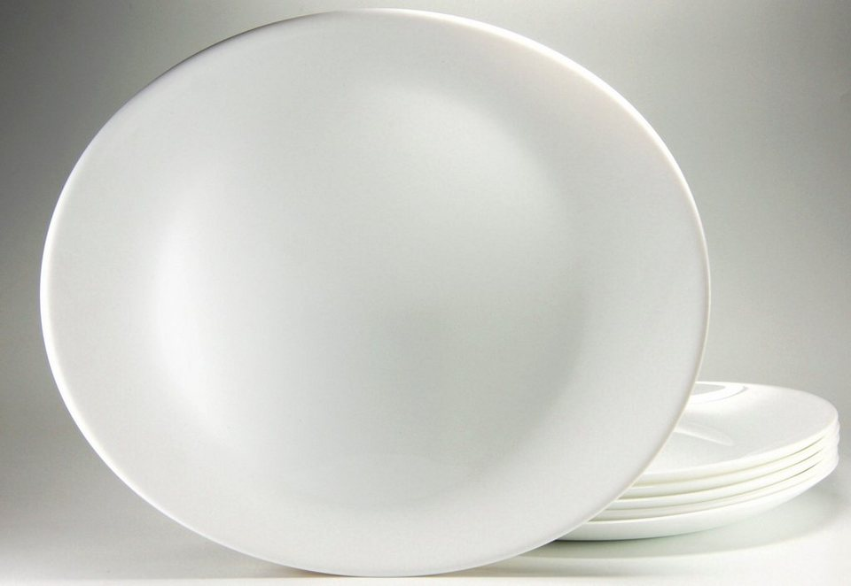Luminarc Steakteller (6 Stck.) in weiß