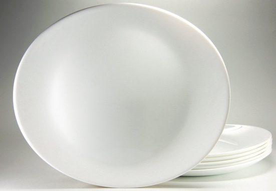 Luminarc Steakteller, (6 Stück), Glas