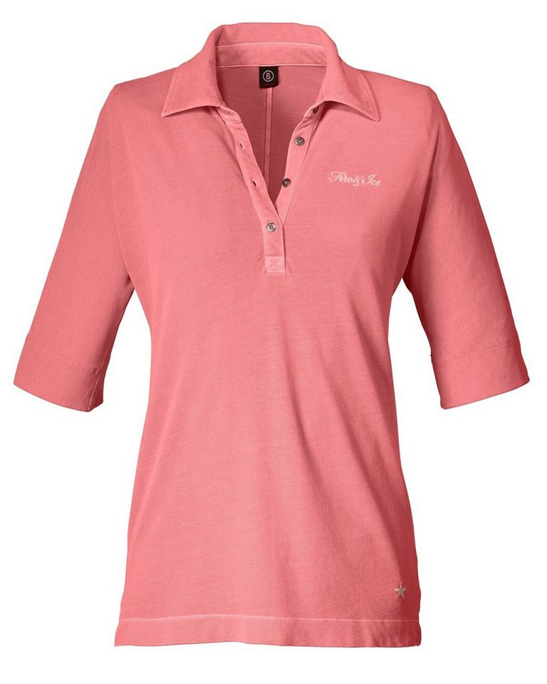 Bogner Fire + Ice Piqué-Poloshirt Madison in Pink