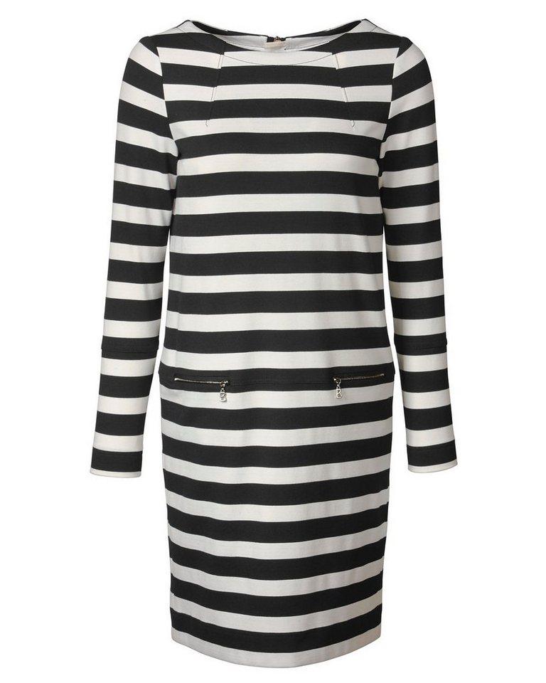 Bogner Jerseykleid Sallie in Schwarz/Weiß