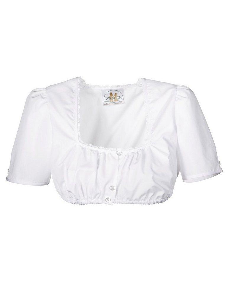 Wenger Bluse in Weiß