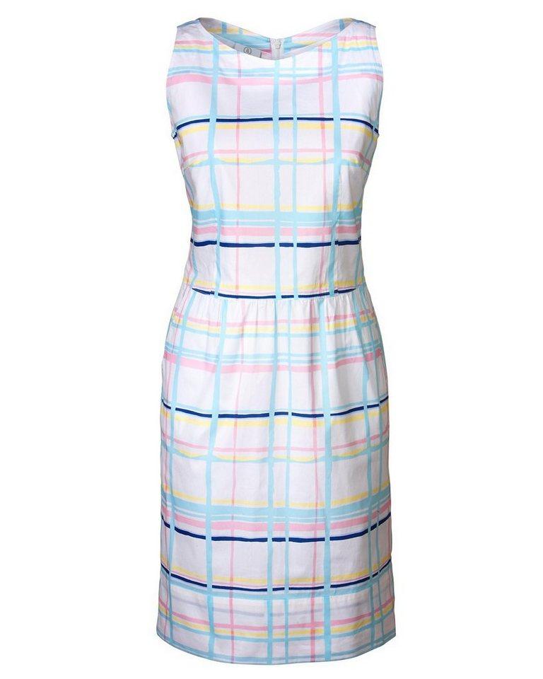 Bogner Kleid Verena in Weiß/Lind/Rosa