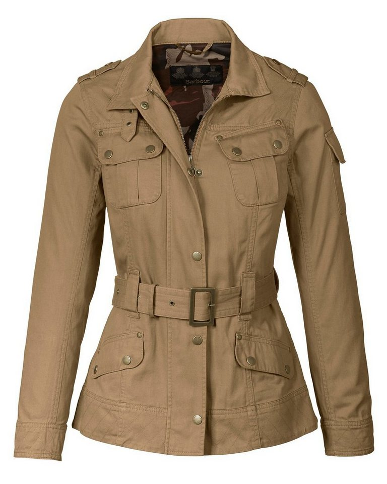 Barbour Jacke Saxon Casual in Sand