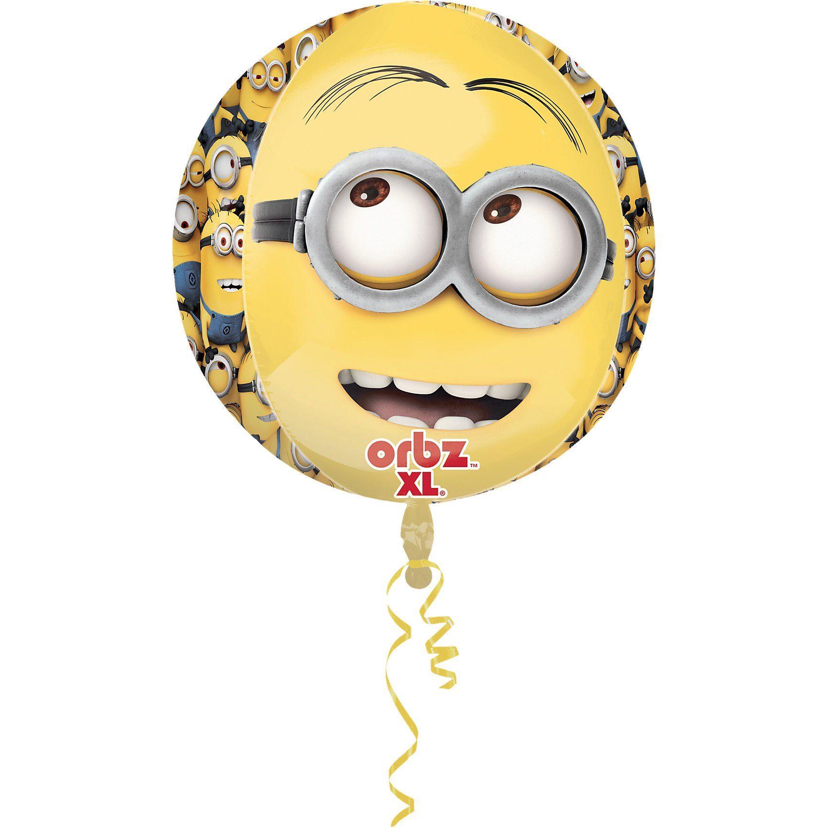 Amscan Folienballon Orbz Minions