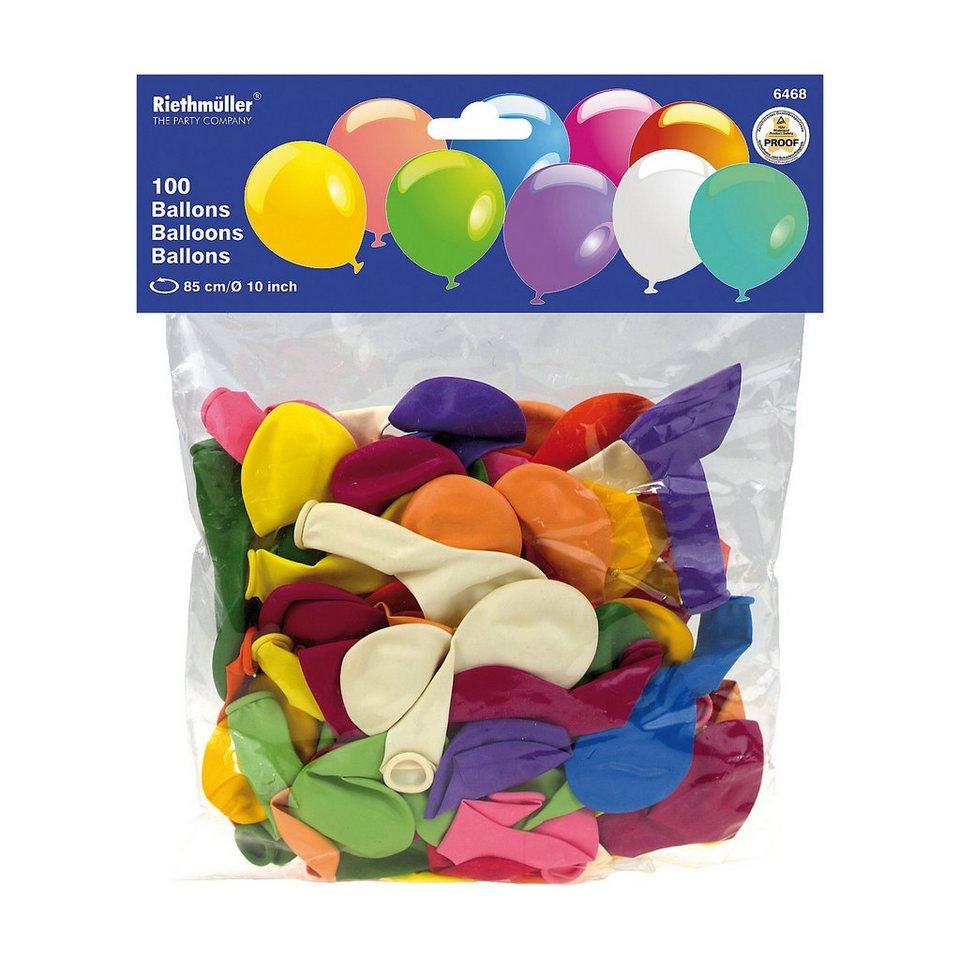 Amscan Luftballons Ø 75 cm , 100 Stück