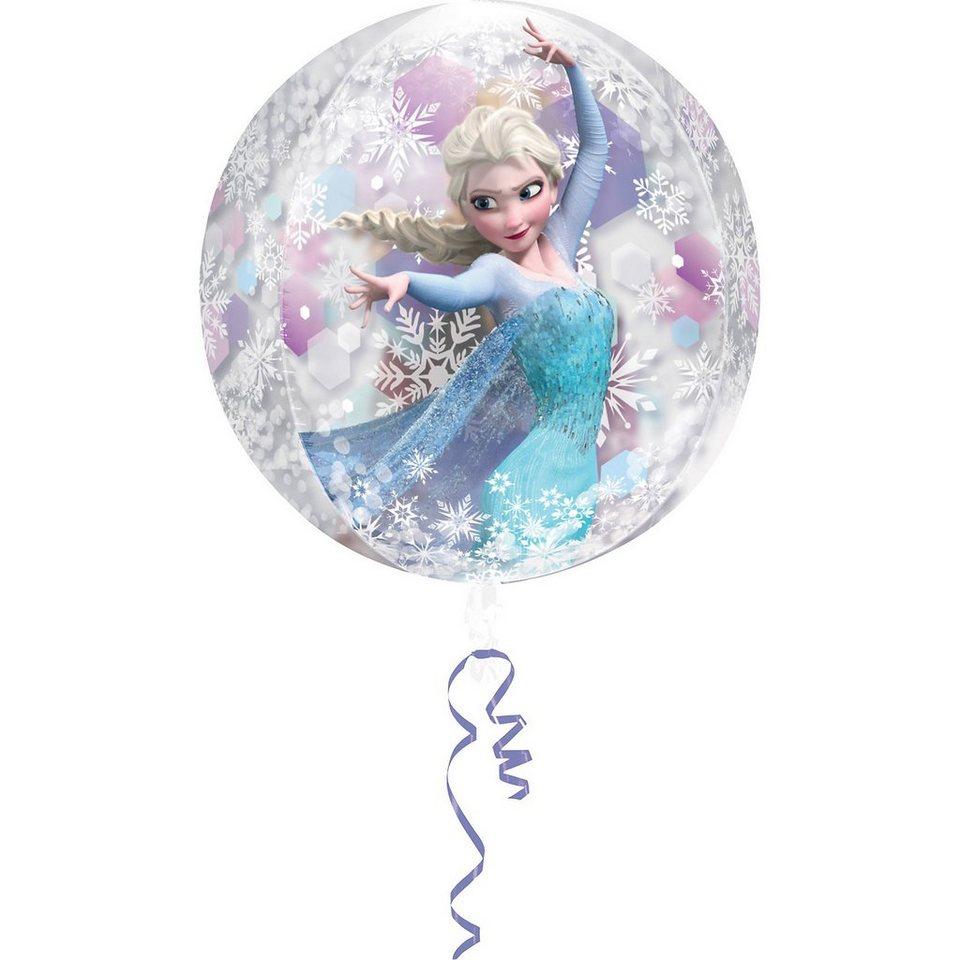 Amscan Orbz Die Eiskönigin in blau