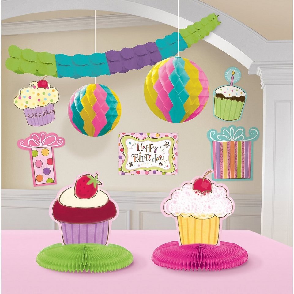 amscan deko set cupcake online kaufen otto. Black Bedroom Furniture Sets. Home Design Ideas
