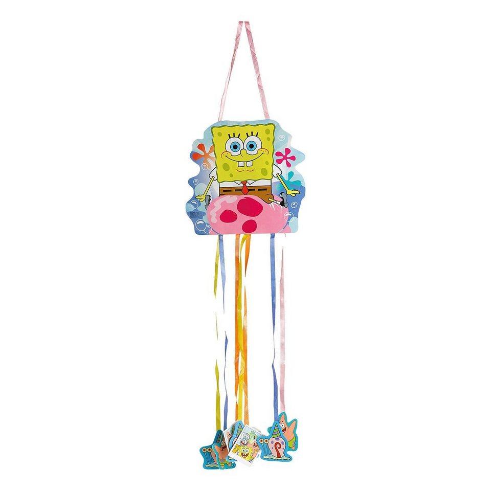 Amscan Pull Pinata SpongeBob