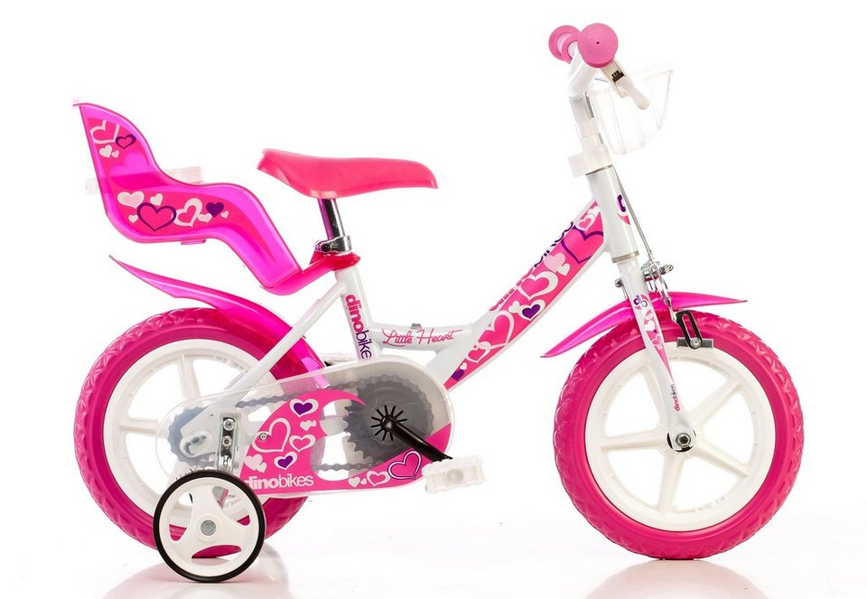 dino kinderfahrrad m dchen 12 zoll 1 gang girlie. Black Bedroom Furniture Sets. Home Design Ideas