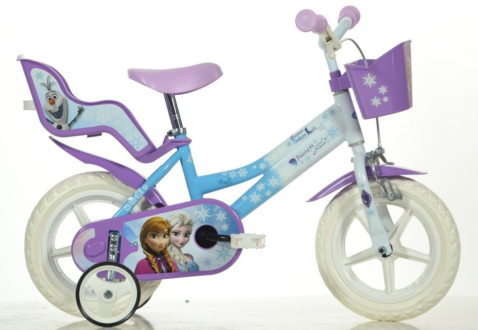 dino kinderfahrrad m dchen 12 zoll 1 gang frozen online kaufen otto. Black Bedroom Furniture Sets. Home Design Ideas
