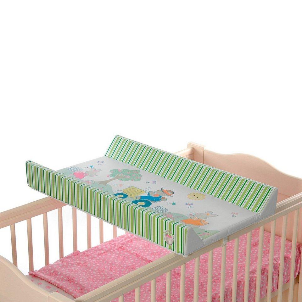 FIRST BABY SAFETY Wickelbrettauflage Bauer in grün