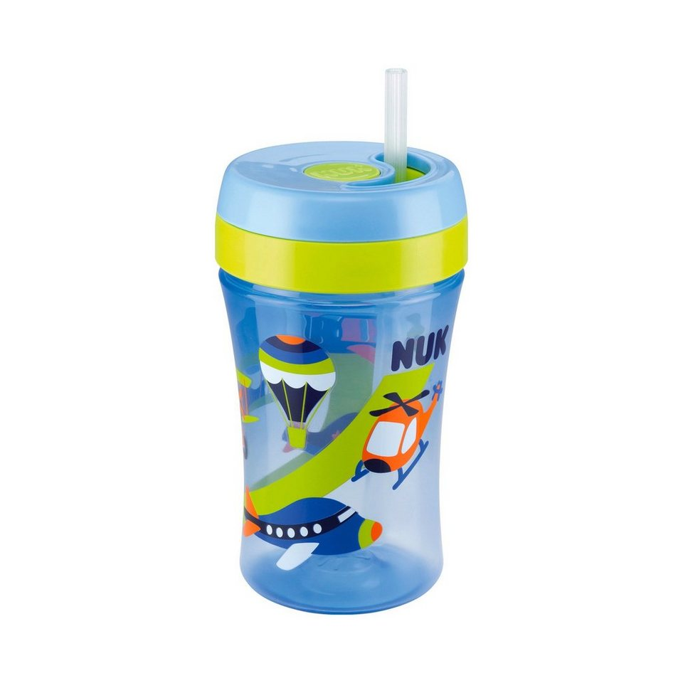 NUK Easy Learning 1-2-3 System Cup 3 in blau