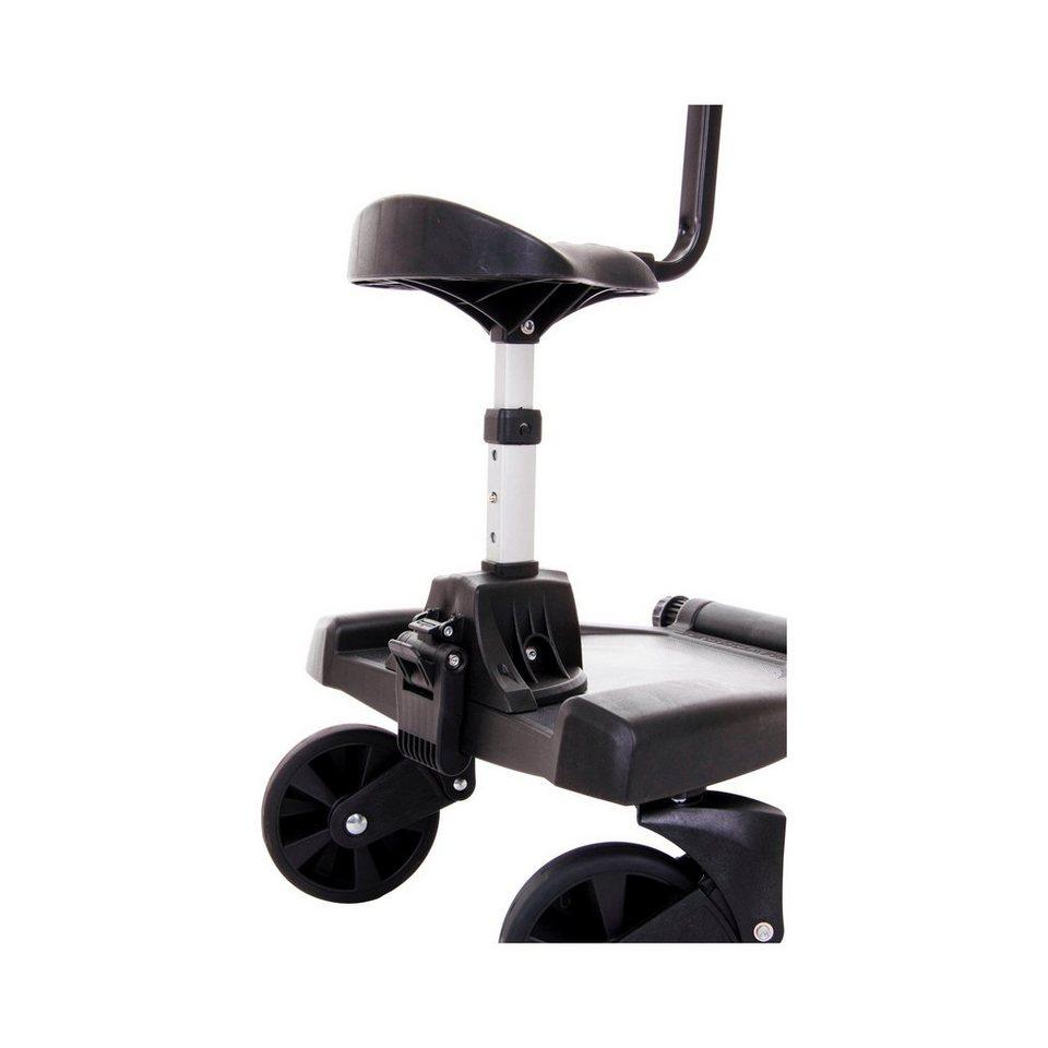 FILLIKID Zusatzsitz für Buggy-Board Filliboard für Kinderwagen in schwarz