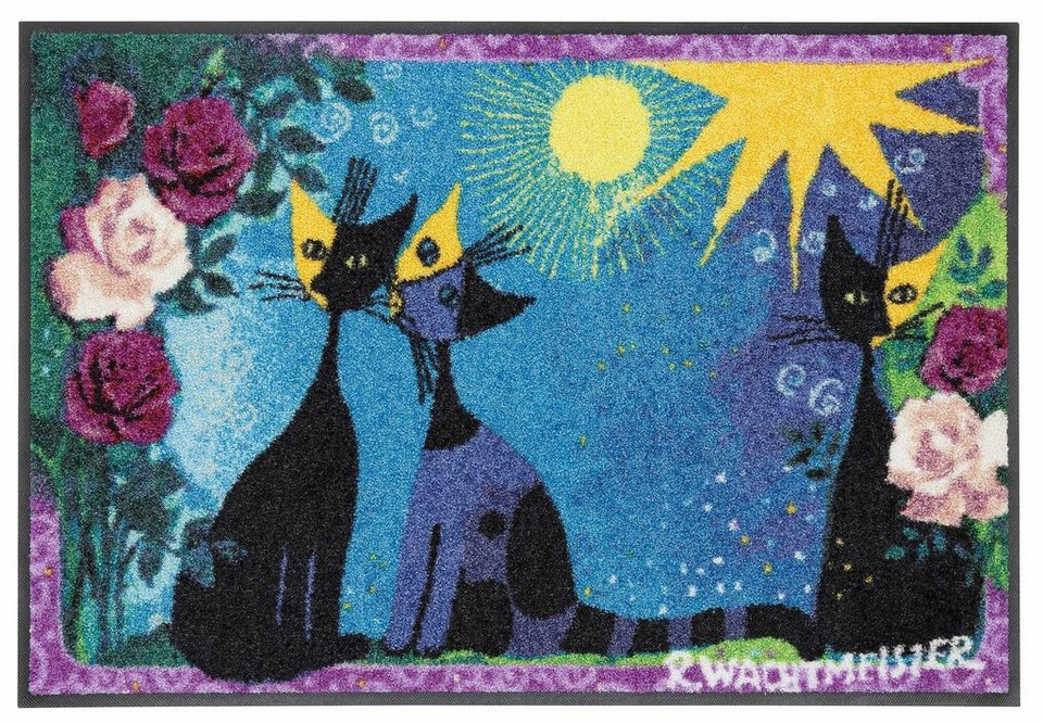 Fußmatte, Rosina Wachtmeister »Roses« in bunt