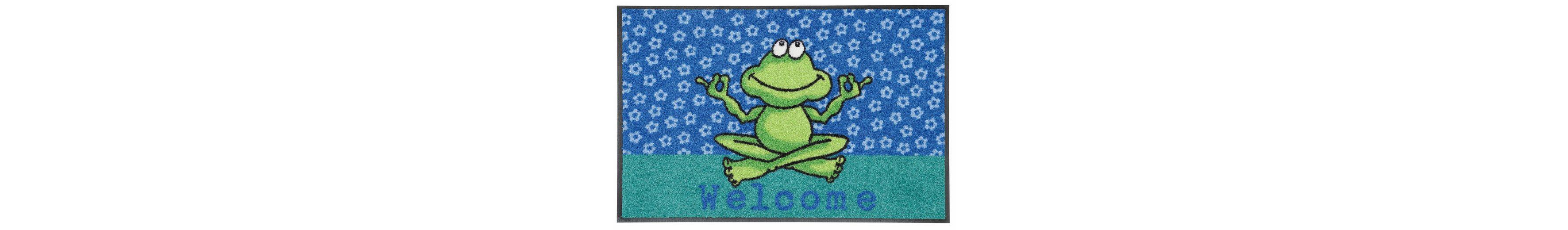 Fußmatte, Salonloewe, »Yoga Frosch«