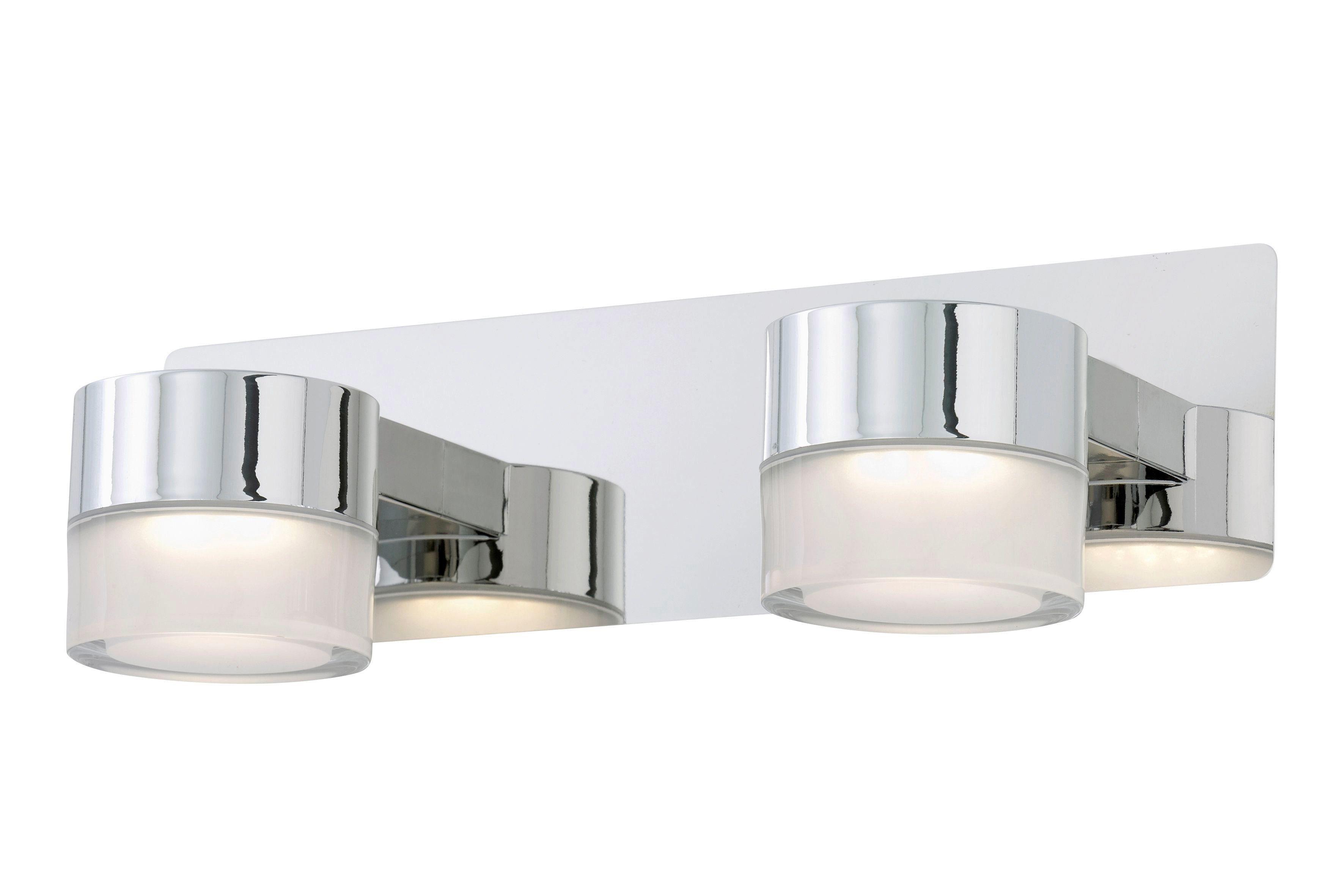 BRILONER LED-Leuchte »Surf, 5W«, aus Metall-Kunststoff in Chromoptik