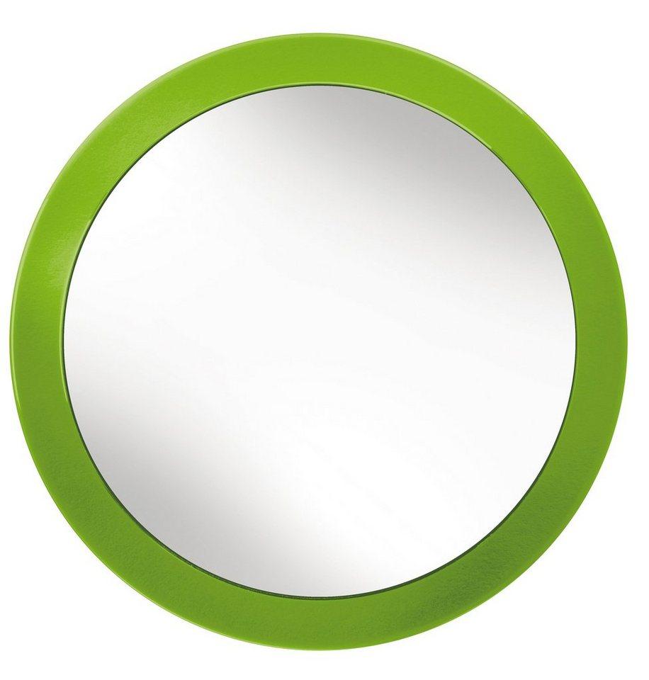Spiegel / Badspiegel »Easy Mirror« Durchmesser 15,3 cm in grün