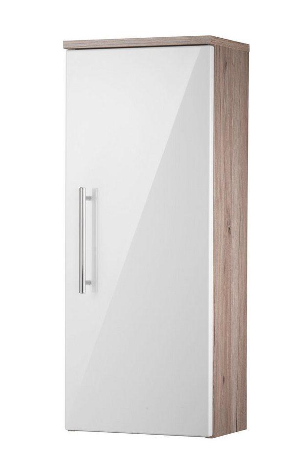 Hängeschrank »Toskana«, Breite 30 cm in eichefarben/weiß