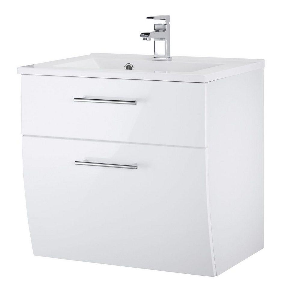 Kesper Waschtisch »Toskana«, Breite 60 cm, (2-tlg.) in weiß