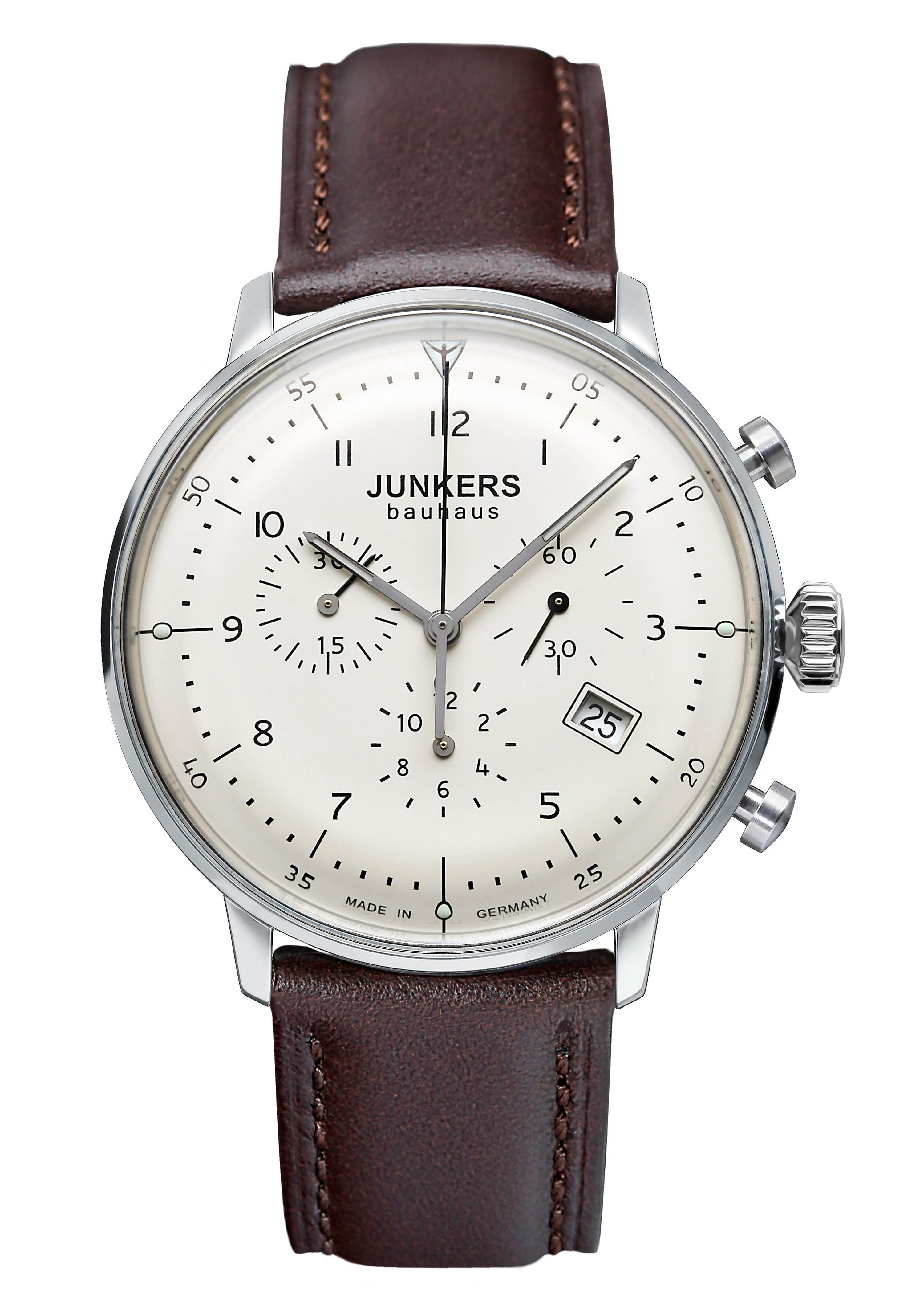 Junkers-Uhren Chronograph »Bauhaus, 6086-5«, Made in Germany