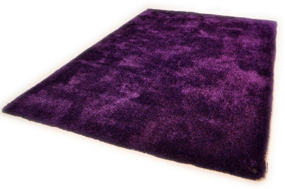 Hochflor-Läufer, Tom Tailor, »Soft«, Höhe 30 mm, handgearbeitet in lila
