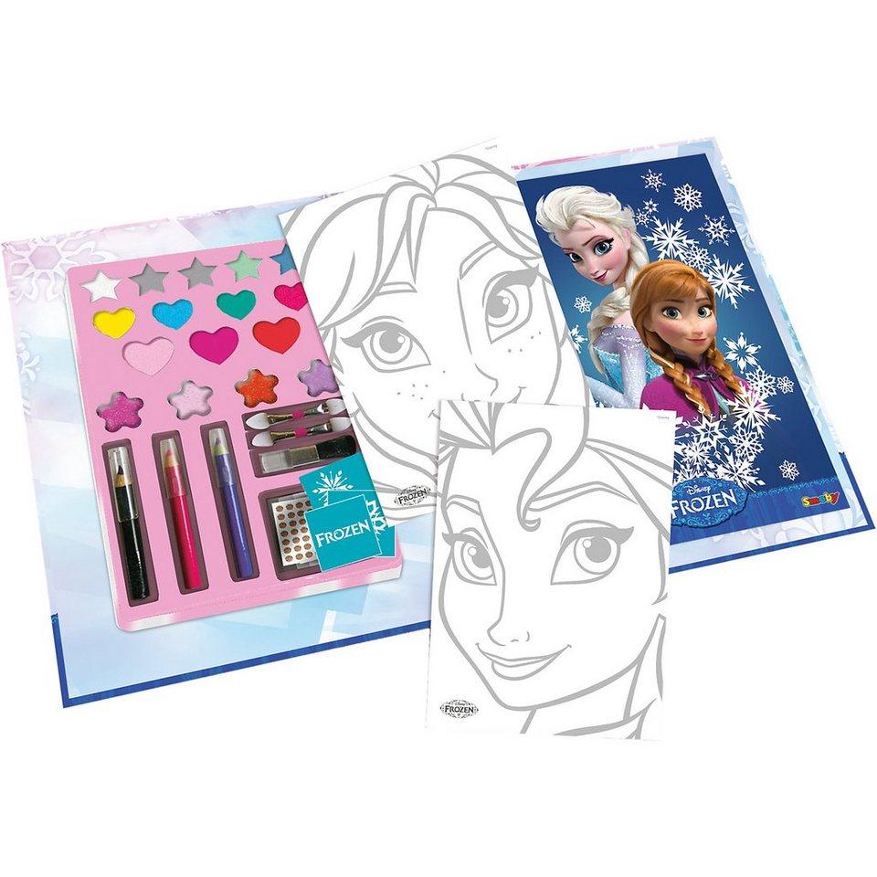 Smoby Die Eiskönigin Make Up Buch