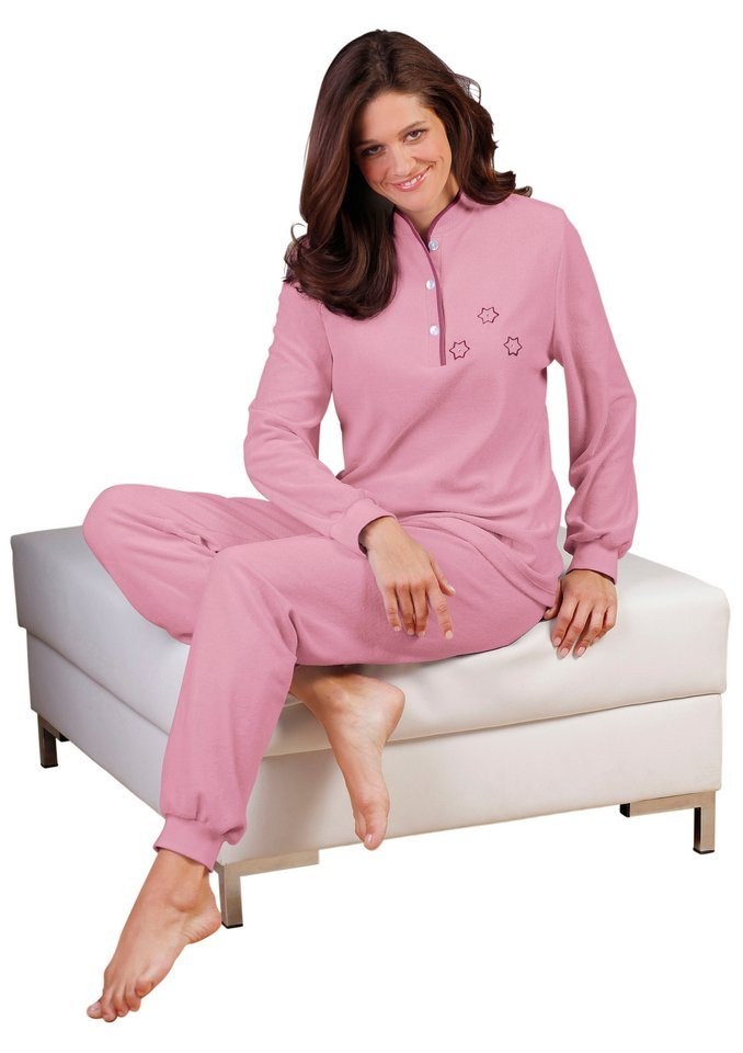 Schlafanzug in rosé