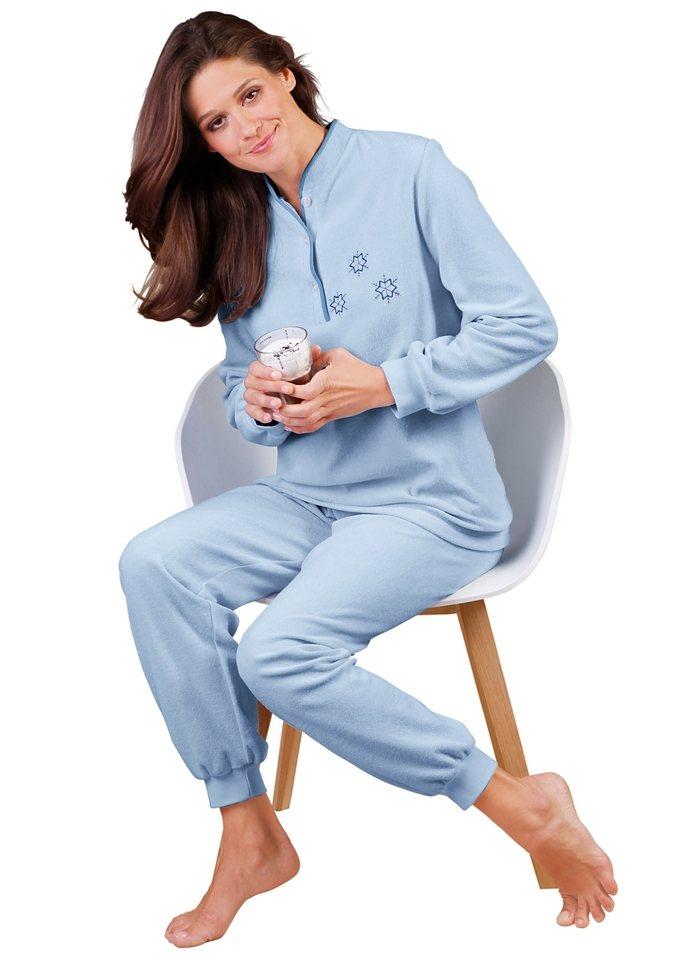 Schlafanzug in bleu