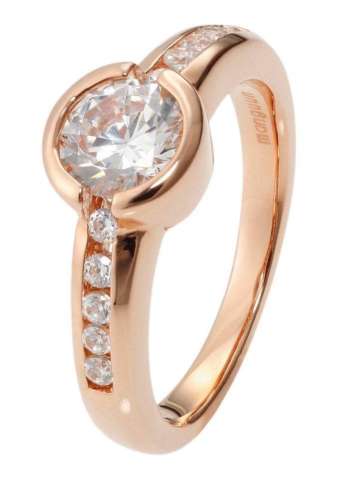 Ring in rosé vergoldet