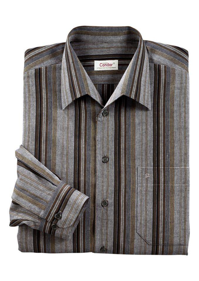Classic Hemd in Streifendesign | Bekleidung > Hemden > Sonstige Hemden | Classic