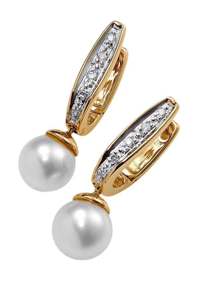 Paar Ohrstecker mit Perle