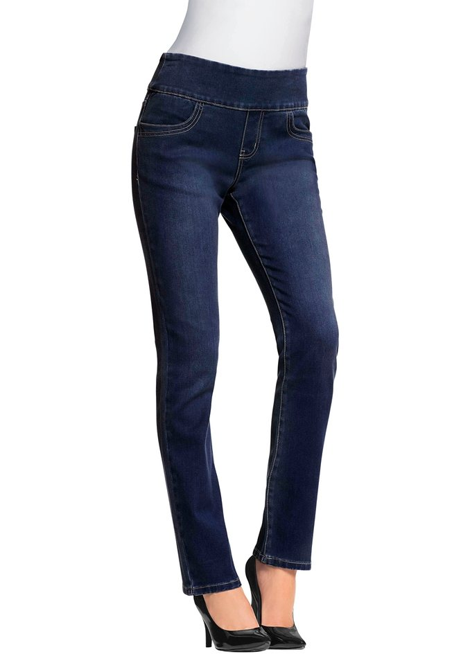 Jeans in dark blue