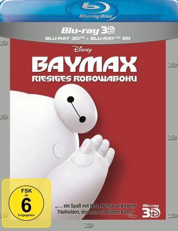 Blu-ray »Baymax - Riesiges Robowabohu (Blu-ray 3D, +...«