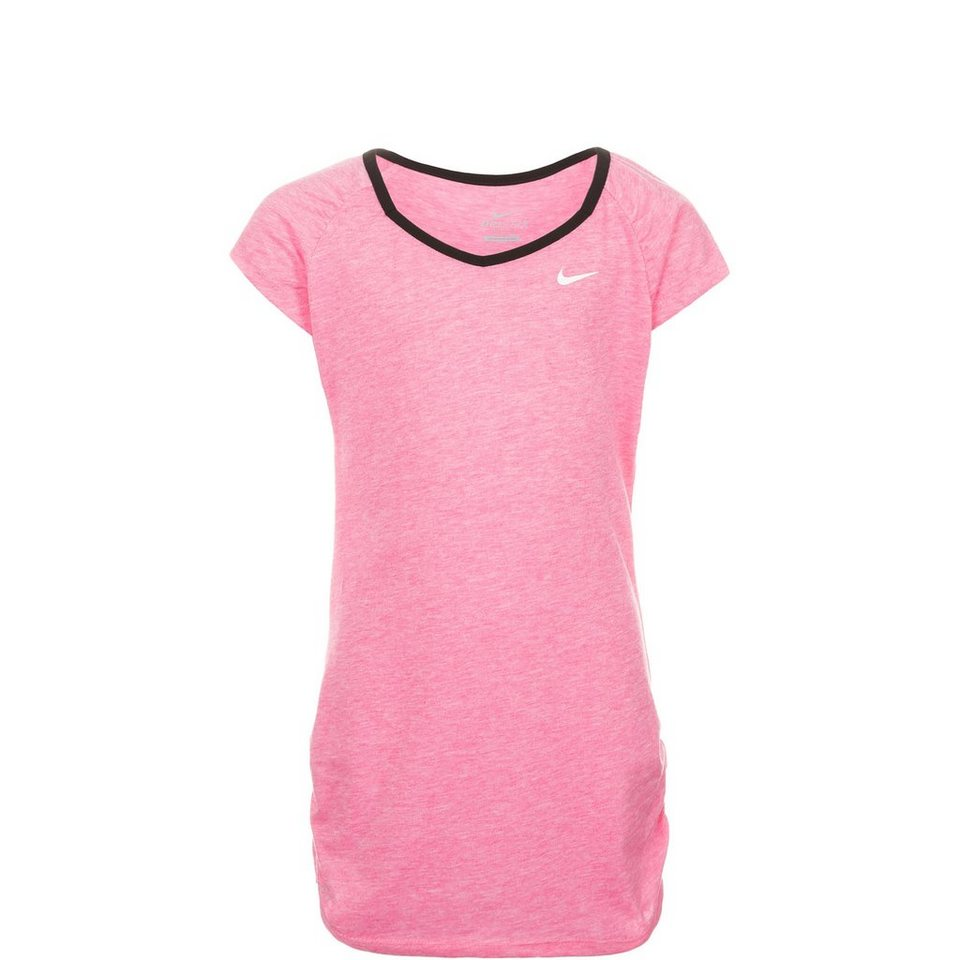 NIKE Touch Trainingsshirt Kinder in pink / schwarz
