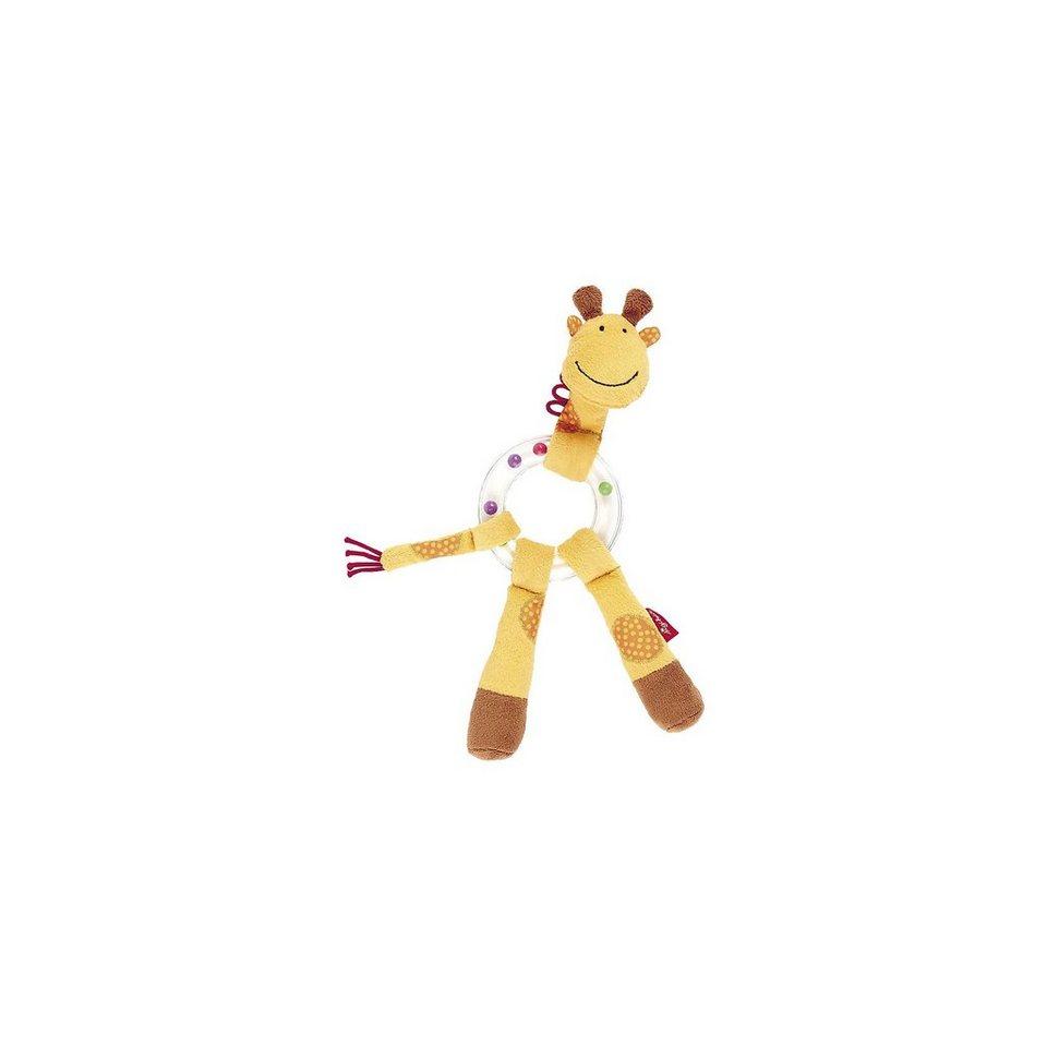 sigikid 41016 Rasselring Giraffe, Greifling