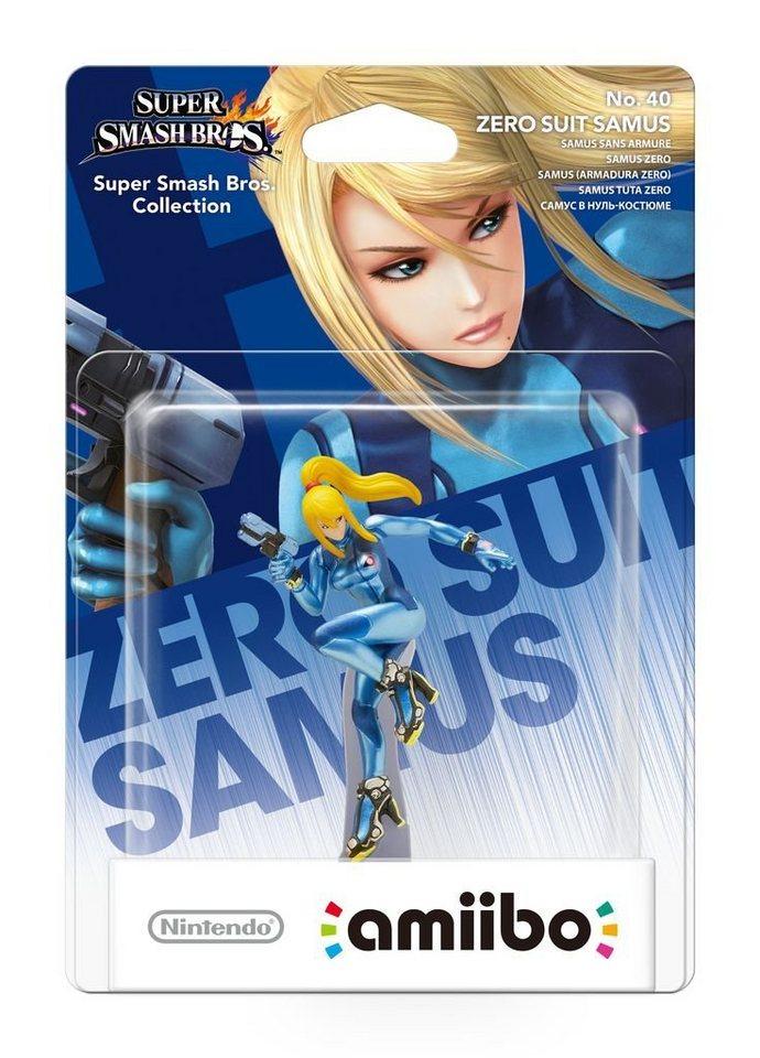 Nintendo Wii U - Spiel »amiibo Smash Zero Suit Samus #40«