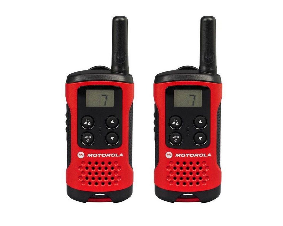 Motorola Funkgerät »TLKR T40« in Rot-Schwarz