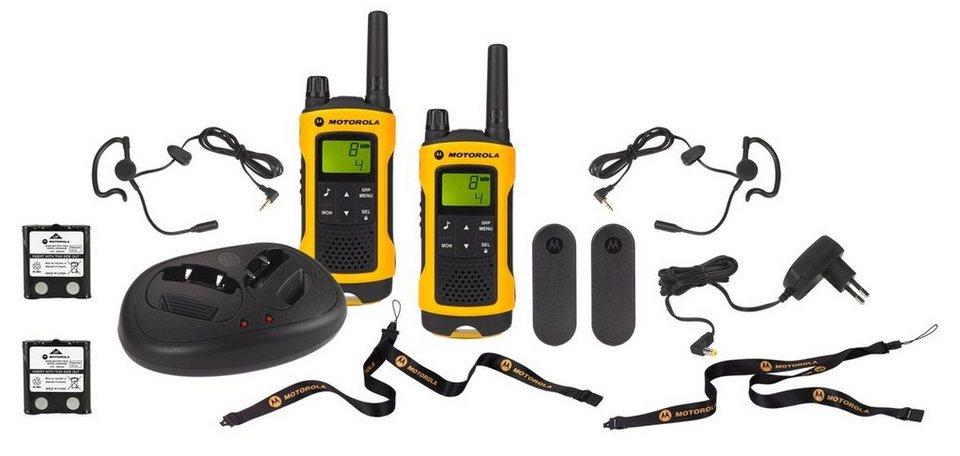 Motorola Funkgerät »TLKR T80 Extreme« in Gelb-Schwarz