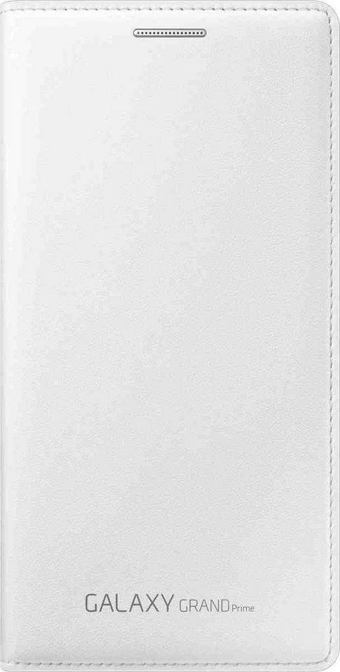 Samsung Handytasche »Flip Wallet EF-WG530 für Galaxy Grand Prime« in Weiß