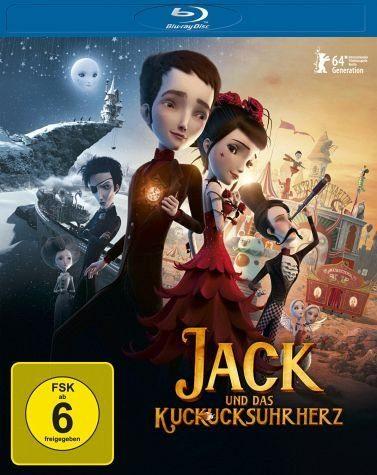 Blu-ray »Jack und das Kuckucksuhrherz«