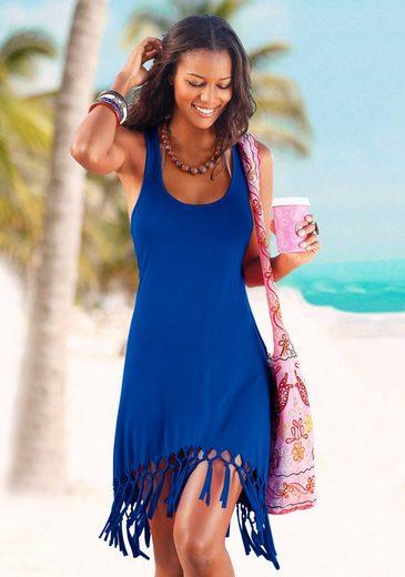 Beach Time Longshirt mit Fransen