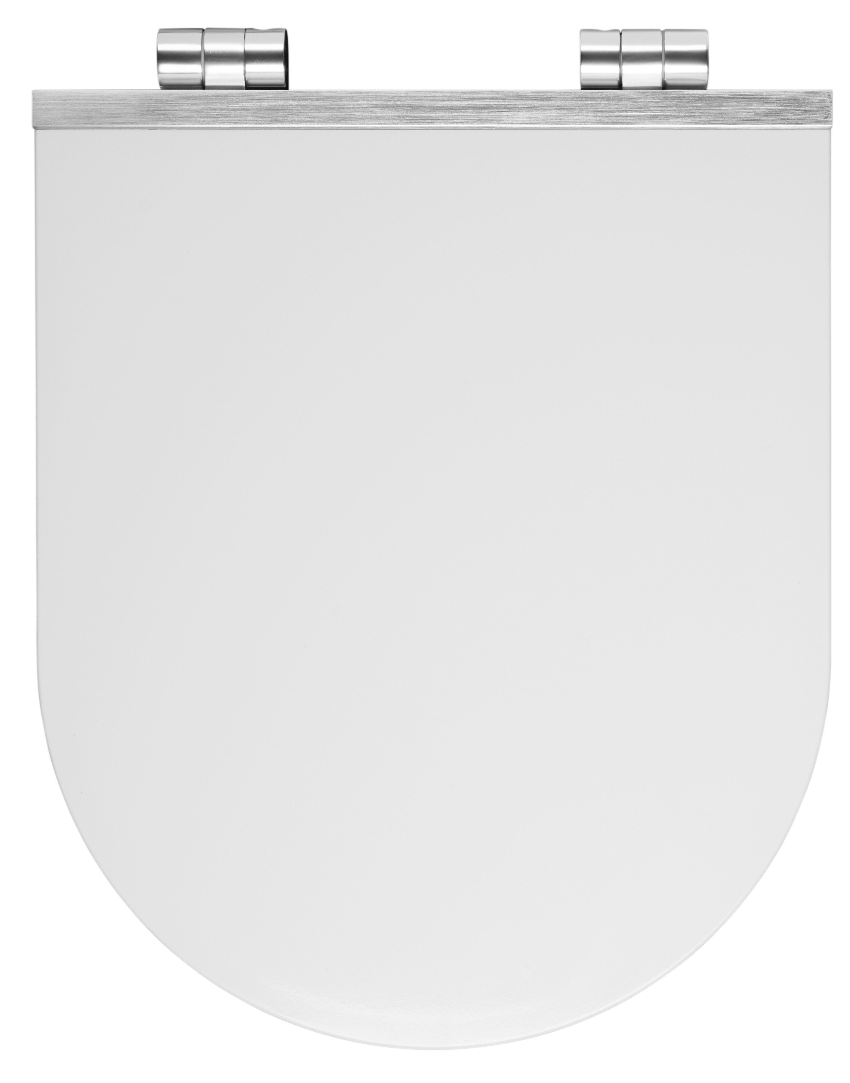 WC-Sitz »Alu«, Mit Absenkautomatik