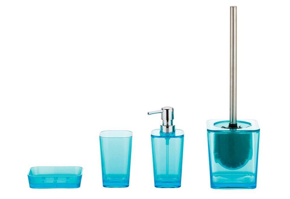 Kela Bad-Accessoire-Set »Kristall«, 4-teilig | OTTO